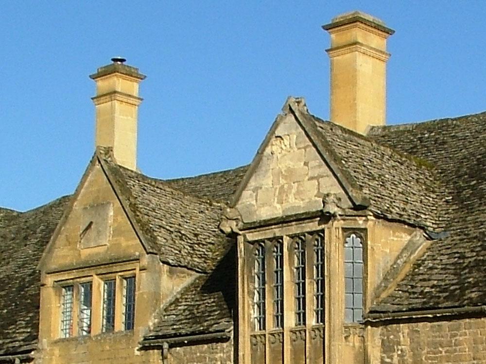 Grade 2 listed homes chimney